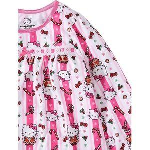 NWT AME Girls Hello Kitty Nightgown Sleepshirt